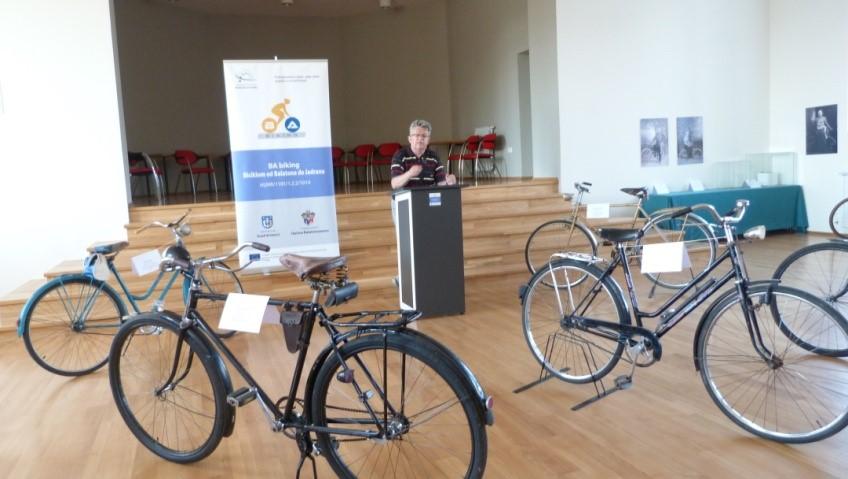 U Križevcima održana izložba ''Biciklom u povijest''