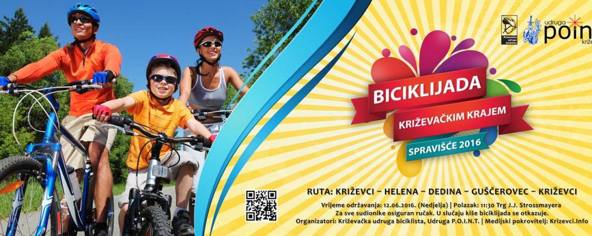 Biciklijada Križevačkim krajem - Spravišče 2016